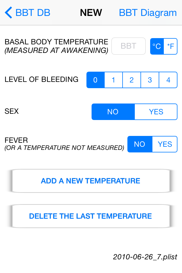 Basal Body Temperature Calculator