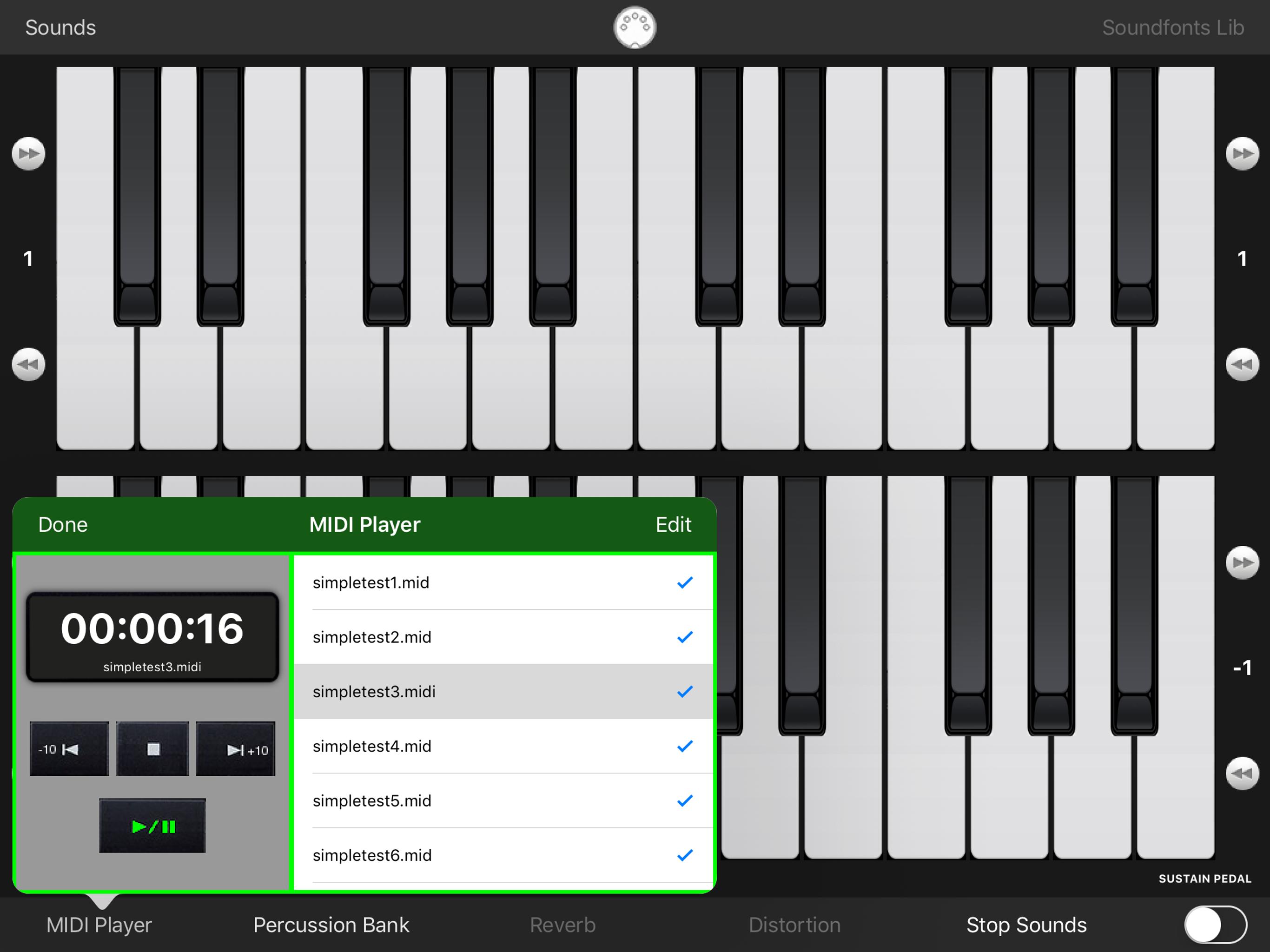 midi Keyboard Screen Shots - NGCYBIT Robotics